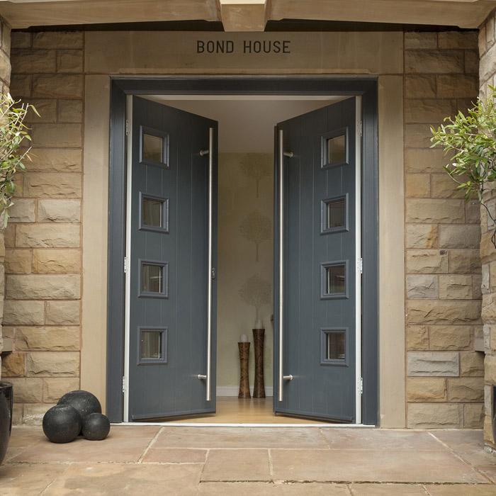 Contemporary Door Range & Solidcore - Solidor Composite Doors